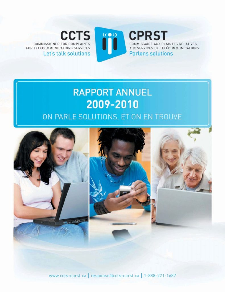 Rapport annuel 2009-2010