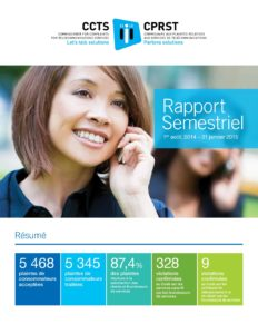 Rapport semestriel 2014-2015