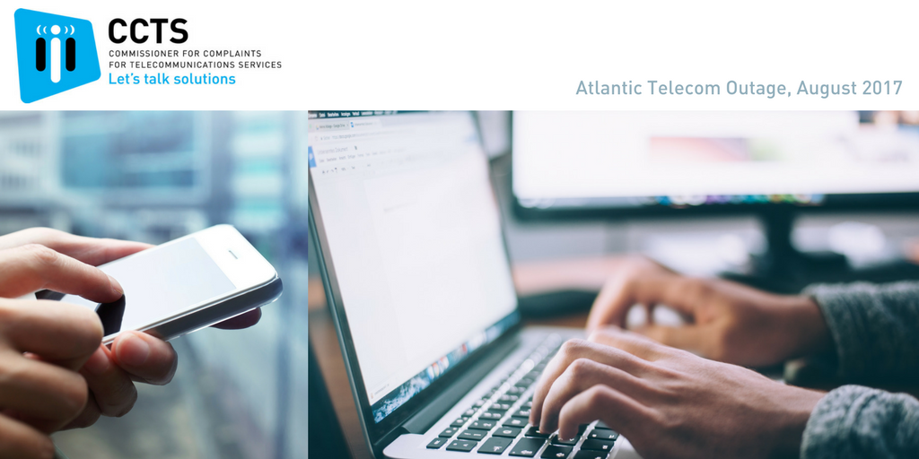 Atlantic Telecom Outage August 2017