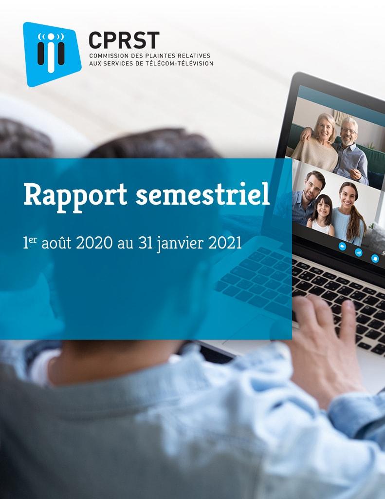 Rapport semestriel 2020-2021